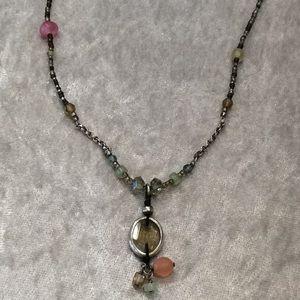 Silpada Colorful Stone Necklace